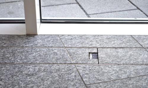 canali filo pavimento finestra scorrevole