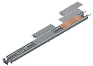 disegno tecnico canali filopavimento