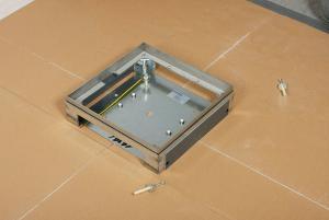 fissaggio impianto a pavimento woertz