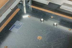 montaggio impianto a pavimento