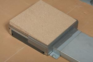 copertura provvisoria impianto a pavimento woertz con coperchio