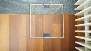 impianto elettrico filo pavimento woertz
