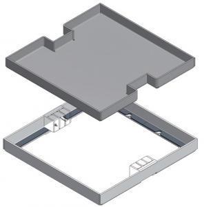 coperchio impianto woertz dak alluminio