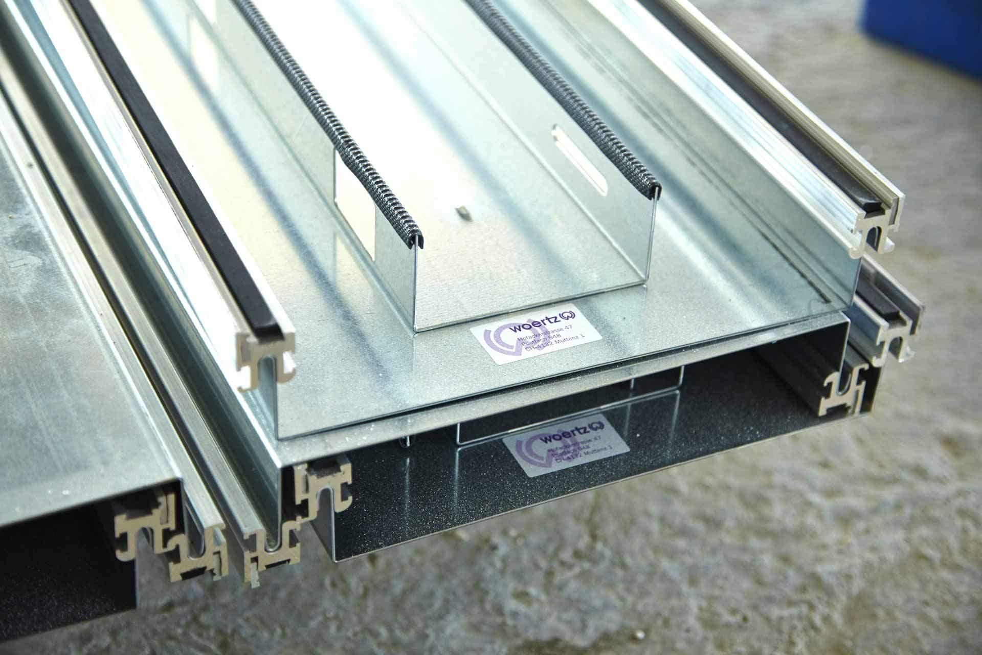 componenti per impianti canalizzati sotto pavimento woertz