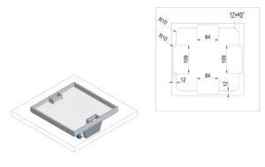 schema impianti elettrici sottopavimento