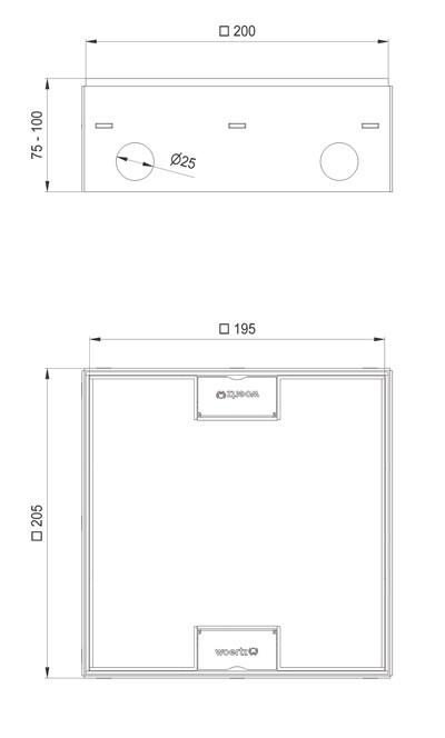 schema tecnico impianto torretta
