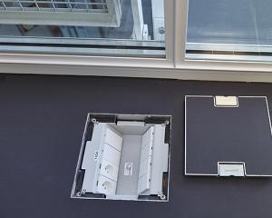 coperchio modificato come la pavimentazione per impianti sottopavimento woertz